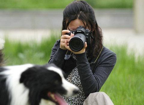 给宠物拍照很难